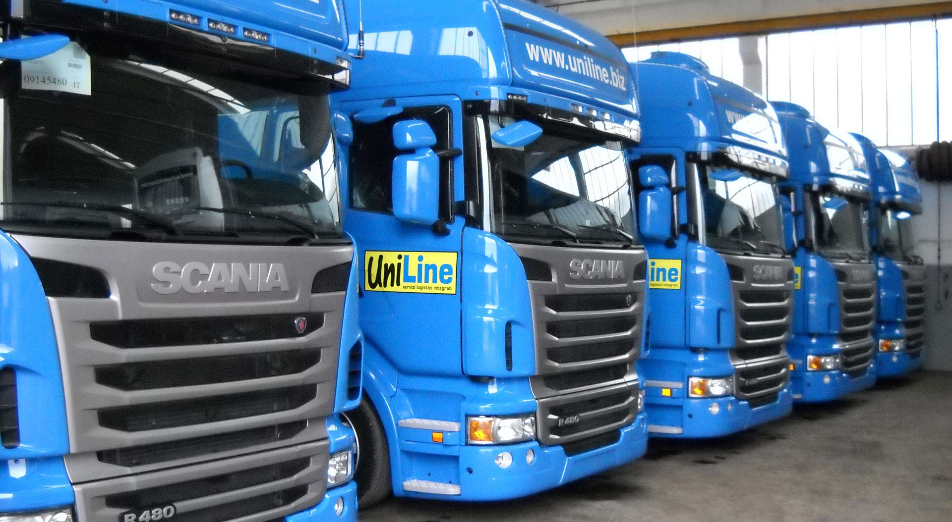 Trasporti Uniline | Servizi Logistici Integrati